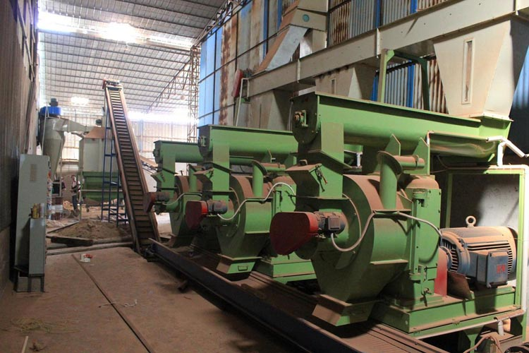 6ton per hour pellet mill